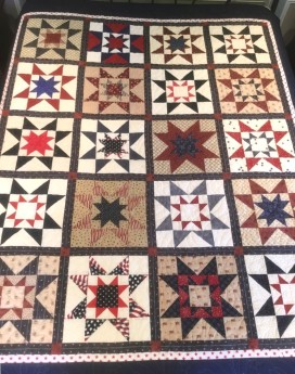 Quilt on bed 1
